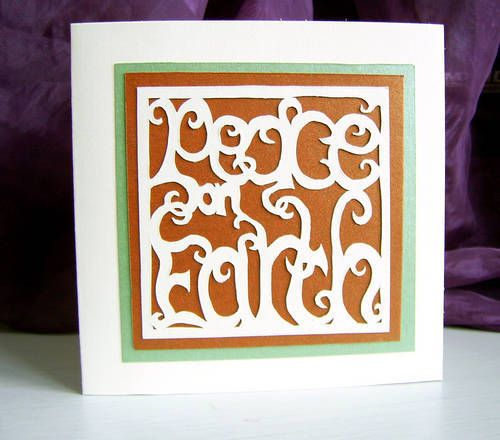 Paper cutting crafts