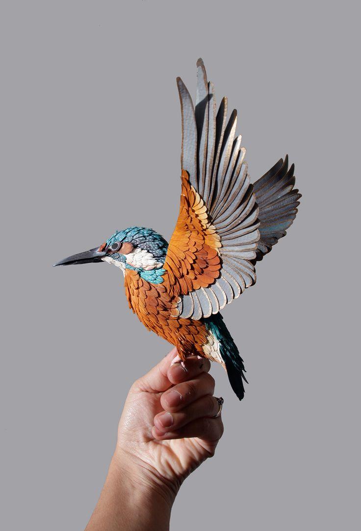 Paper bird crafts