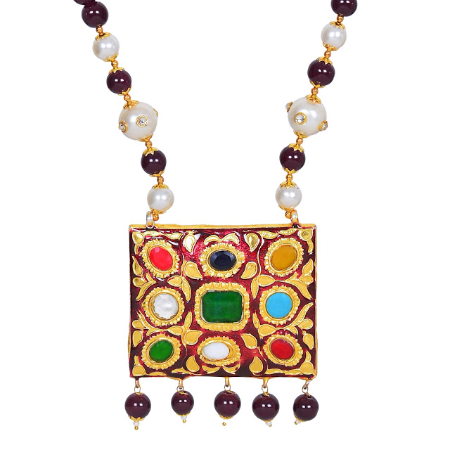 NAVRATAN JEWELRY SET