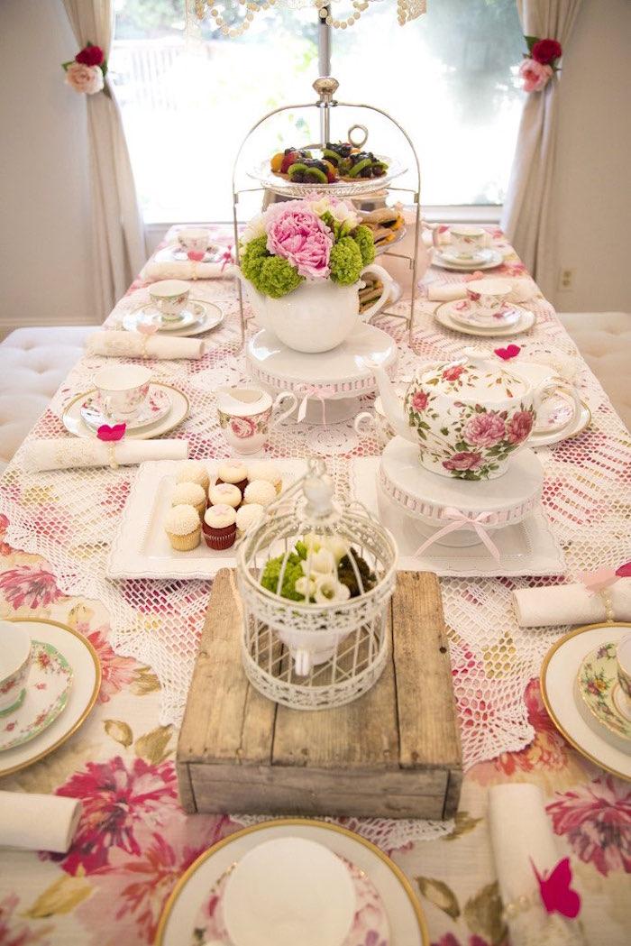 Tea party tabletop