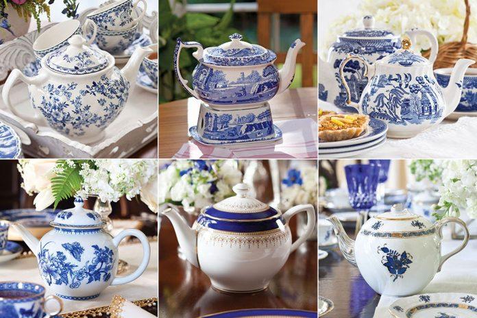 Blue & White Teapots