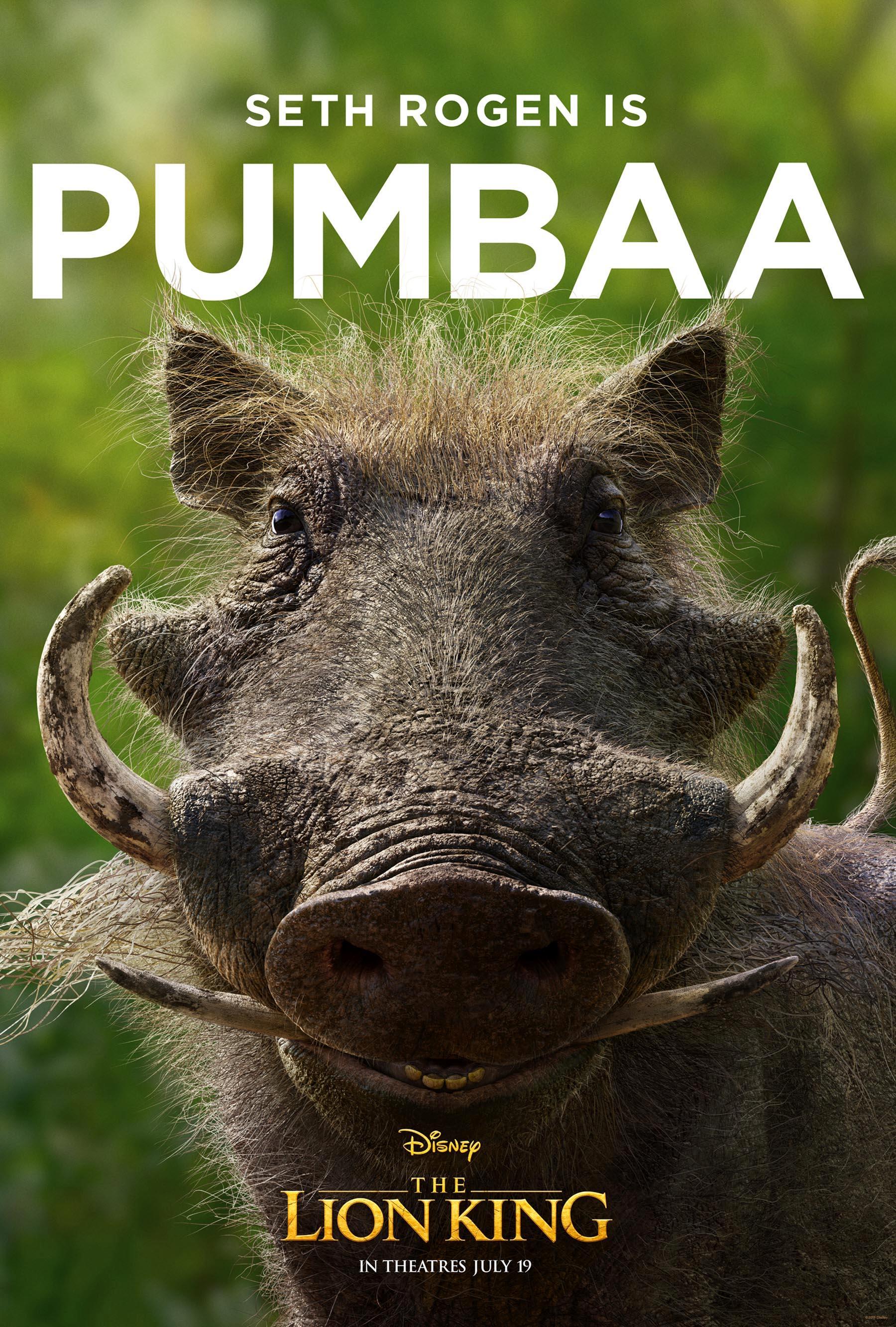 Pumbaa, look at this face!