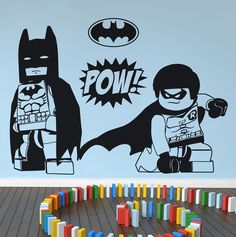 Lego wall painting ideas