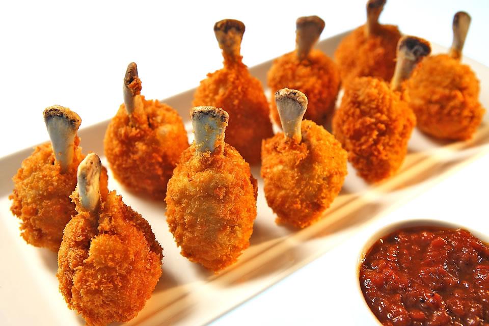 Juicy chicken lolipop