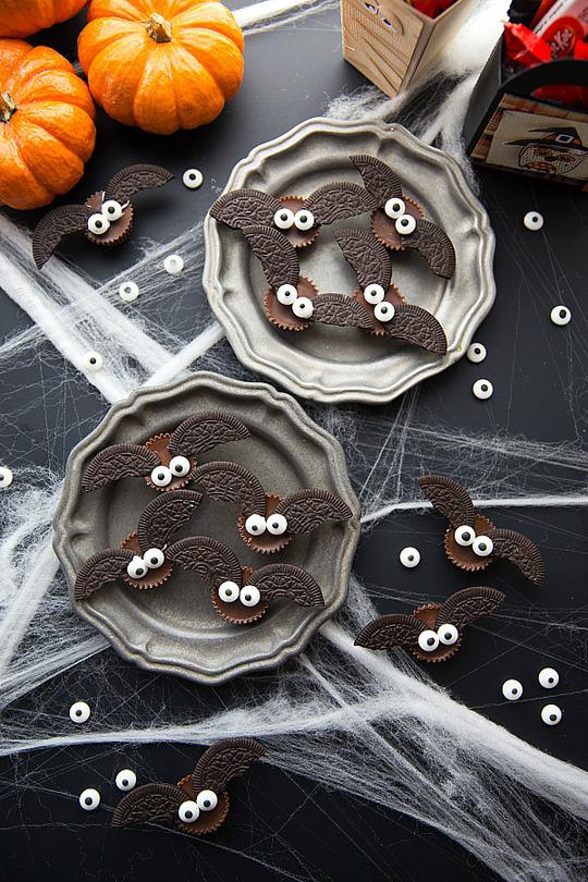 DIY Halloween Bat Bites