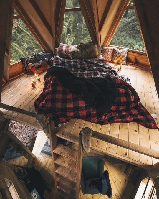 Loft and plaid