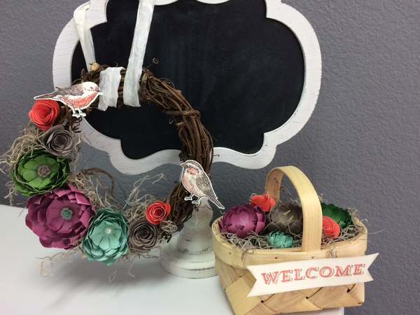 Spring wreath or basket
