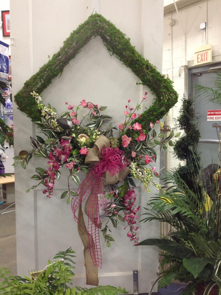 Moss wreath spring
