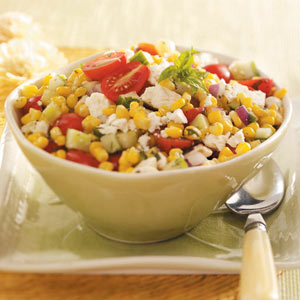 Corn salad summer recipe
