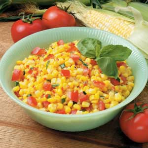 Corn tomato recipe salad