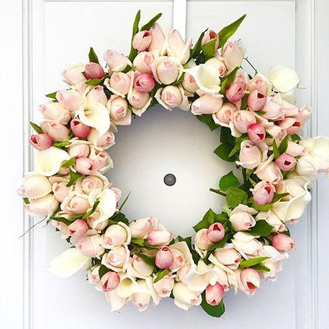 Wedding spring diy sweetest wreaths