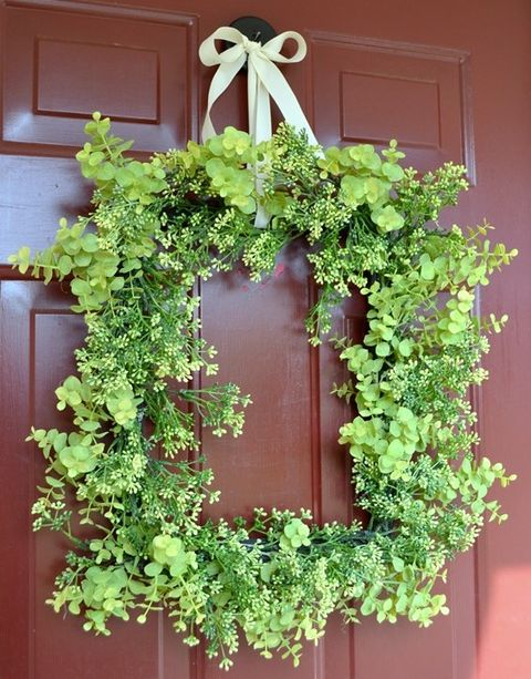 Diy wedding spring wreaths