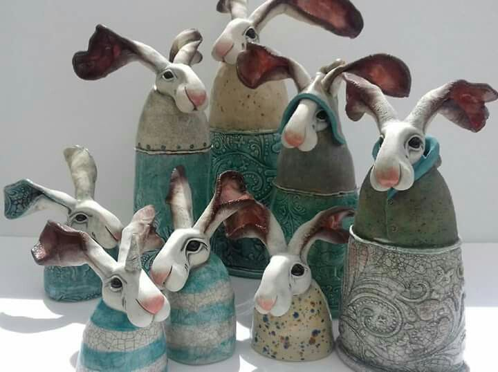 Bunny canisters