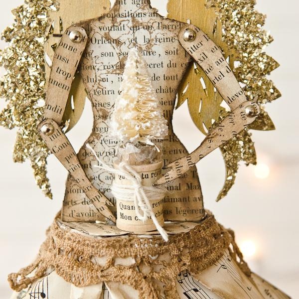 Steampunk Christmas Angel