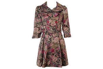 Coat forever dress floral 21 $47.80
