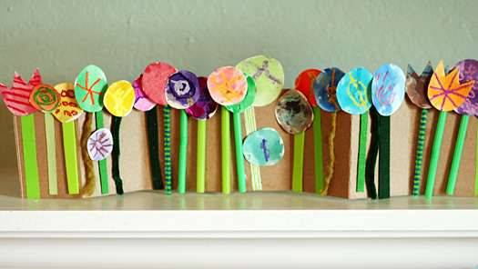 Paper crafts flower