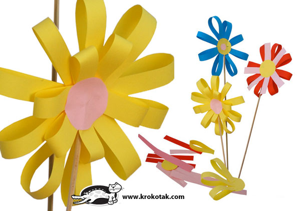 Paper-Flower crafts