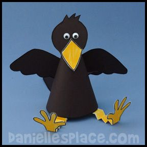 Kids craft bird