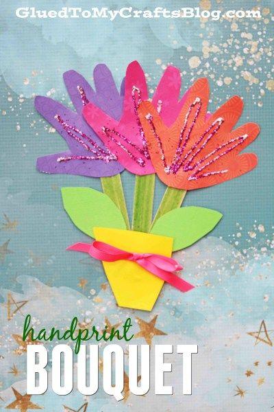 Kids crafts ideas flower crafts
